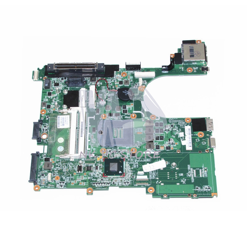 NOKOTION 646962-001 654129-001 Main Board For HP Probook 6560B 8560P Laptop motherboard HM65 GMA HD DDR3 free shipping 665718 001 for hp 6560b 8560p laptop motherboard 665718 001 amd system board ddr3
