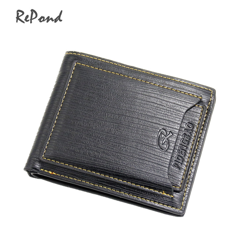 Free shipping High quality Men fashion short design gunuine leather cowhide wallet+extra card place_Brand Pidengbao-Kathystore free drop shipping 2017 newest europe hot sales fashion brand gt watch high quality men women gifts silicone sports wristwatch
