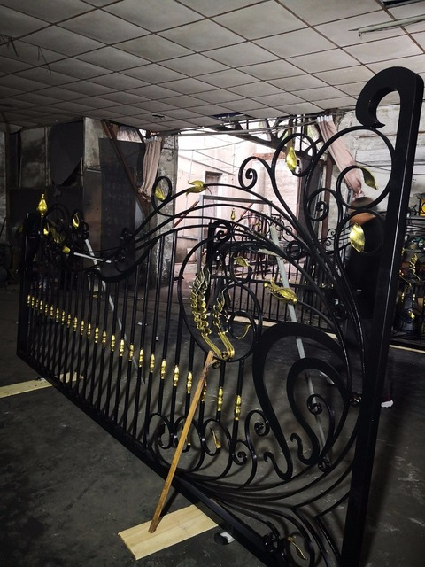 Superb High Designs China Wrought Iron Gates Wrought Iron Gate For Home Villas