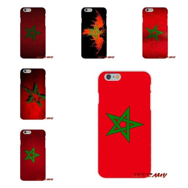 Đối Với Samsung Galaxy S3 S4 S5 MINI S6 S7 cạnh S8 S9 Cộng Với Lưu Ý 2 3 4 5 8 Moroccan morocco cờ Phụ Kiện Điện Thoại Trường Hợp Bao Gồm