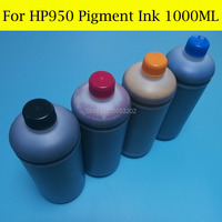 1000MLX4 Color For HP 950 951 Pigment Ink Refill Kit 951XL For HP Officejet Pro 8600