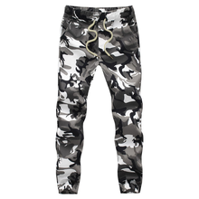 2019 Mens Jogger Autumn Pencil Harem Pants Men Camouflage Military Pants Loose Comfortable Cargo Trousers Camo Joggers mens joggers pants men camouflage tactical cargo pants male jogger 2019 new military camo pants male trousers pantalon hombre