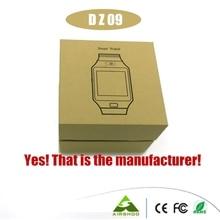 Dhl-freies 20 STÜCKE 2016 Heißer DZ 09 Bluetooth Smart Uhr für IOS Android Unterstützung SMI/TF Sport Armbanduhr Smartwatch PK U8 GT-08 W8