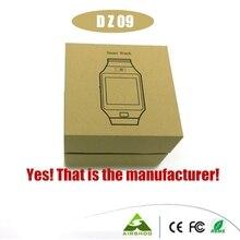 ดีเอชแอฟรี20ชิ้น2016ร้อนDZ 09บลูทูธดูสมาร์ทสำหรับIOS A NdroidสนับสนุนSMI/TFกีฬานาฬิกาข้อมือSmartwatch PK U8 GT-08 W8