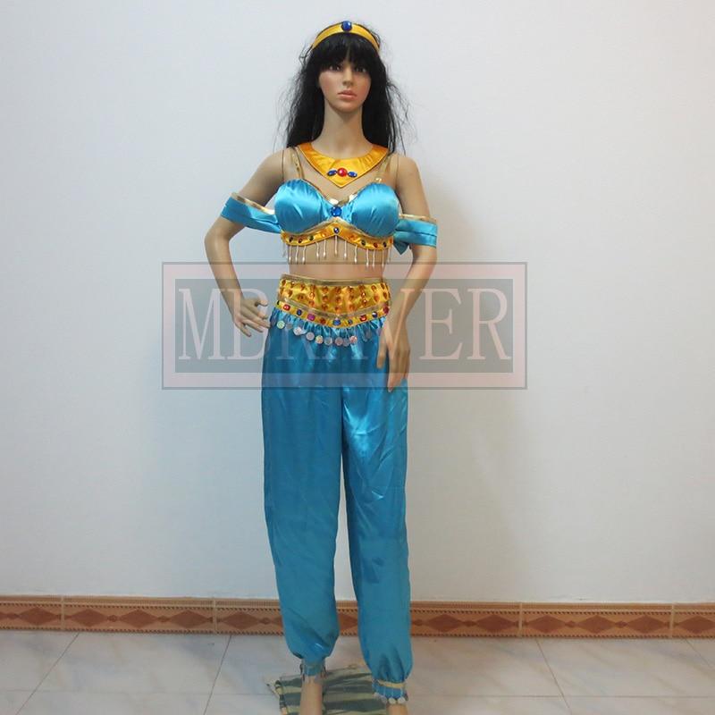 popular adult jasmine costume buy cheap adult jasmine costume lots from china adult jasmine. Black Bedroom Furniture Sets. Home Design Ideas