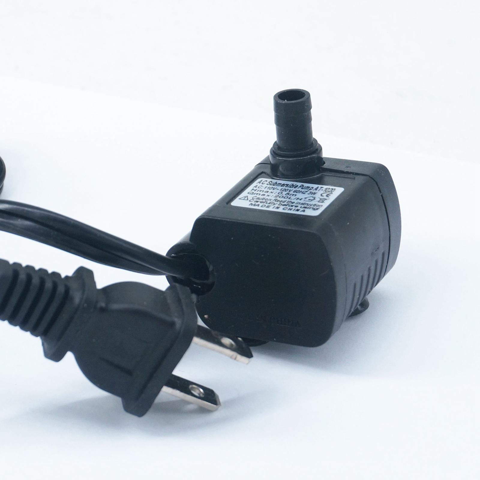 <font><b>110V</b></font> AC Electric Waterproof <font><b>Pump</b></font> Mini Submersible <font><b>Water</b></font> <font><b>Pump</b></font> brushless motor Aquarium fish tank no jam <font><b>Pump</b></font> image