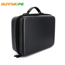 Sunnylife DJI Spark Drone Waterproof Carrying Bag Storage Box Crashproof Protective Portable Handheld Package Protection Case