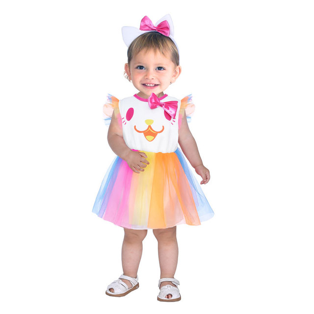 Umorden Carnival Party Halloween Costumes Toddler Baby Clown Costume