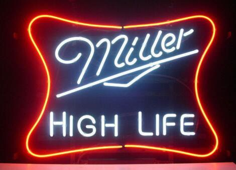 Miller High Life Beer Bar Neon Light Sign