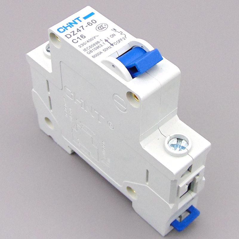 Circuit breaker Air switch MCB 1P 1A 2A 3A 4A 6A 10A 16A 20A 25A 32A 40A 50A 60A C65N DZ47 CHNT dhl eub 5pcs new original for schneider c65n dc 1p c40a breaker 15 18