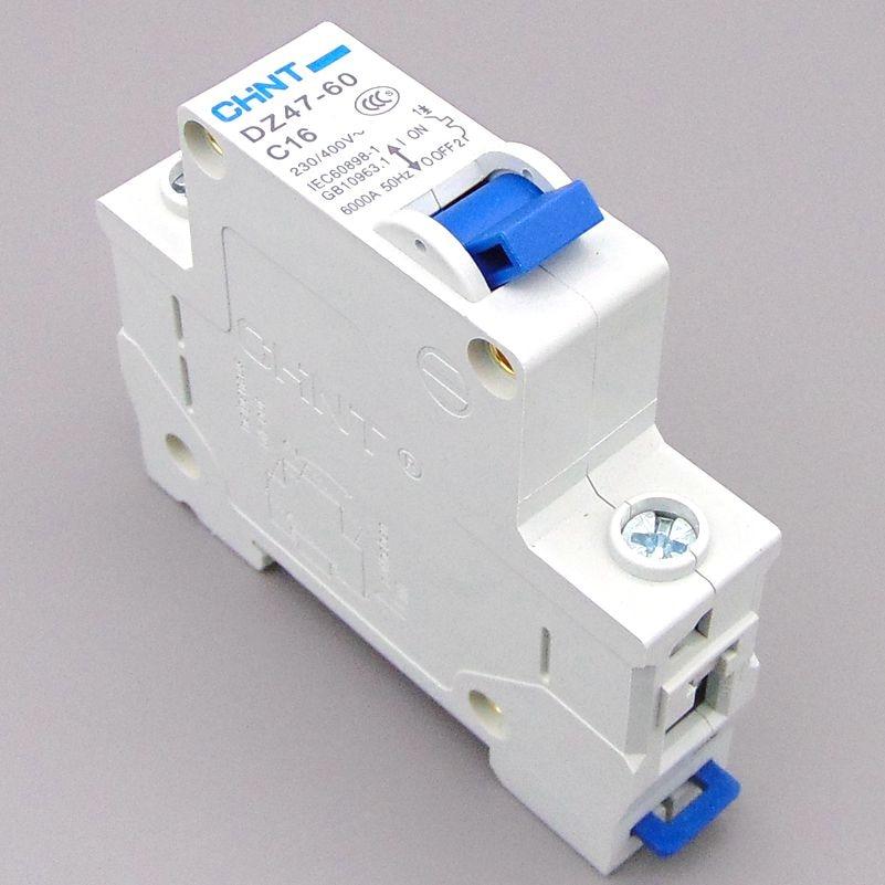 Circuit breaker Air switch MCB 1P 1A 2A 3A 4A 6A 10A 16A 20A 25A 32A 40A 50A 60A C65N DZ47 CHNT