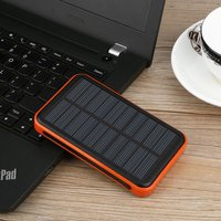 15000 MAh Fast Universal Dual USB Ports Outdoor Solar Powered Power Bank Large Capacity Powerbank Charger