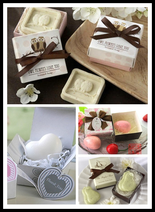 20pcs cute wedding soap wedding decoration crystal soap for Home decor and gifts