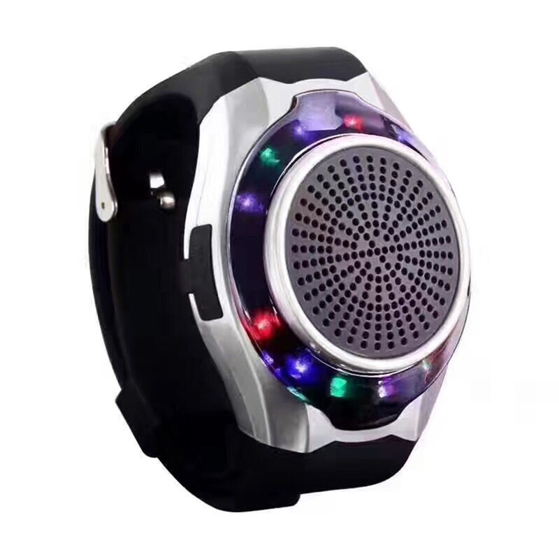 Wireless Bluetooth MP3 Speaker Sports Smart Watch Speaker Ubit Handsfree TF FM LED Display Anti-Lost Alarm Selfie Remote