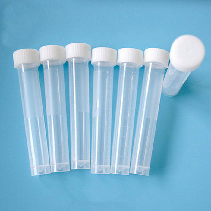 10ML 50PCS/LOT Graduation Plastic Cryovial Test Tube Cryo Freezing Tube Sterile Tube With Screw Cap 60 piece tube 16x150mm clear plastic test tube set with caps and rack