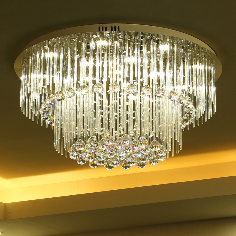 8d3e9989bb New Arrival Round Modern Led Crystal Ceiling Lights For ...