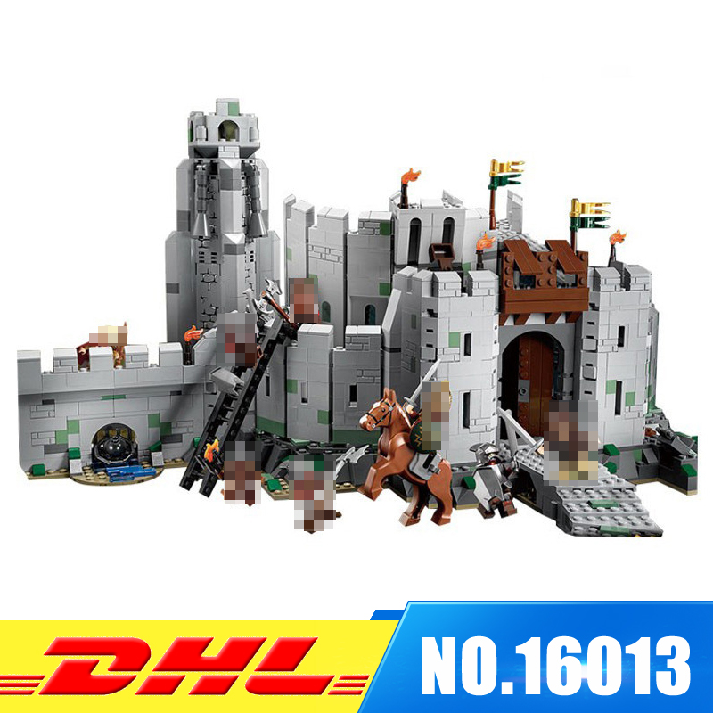 Fit For 9474 LEPIN 16013 1368Pcs The Lord of the Rings The Battle Of Helm's Deep Model Building Kits Set Blocks Bricks Toys Gift hot sale the hobbit lord of the rings mordor orc uruk hai aragorn rohan mirkwood elf building blocks bricks children gift toys