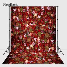 NeoBack vintage 5x7ft vinyl backdrop backgrounds for photo studio children Computer Painted Backdrops A0901