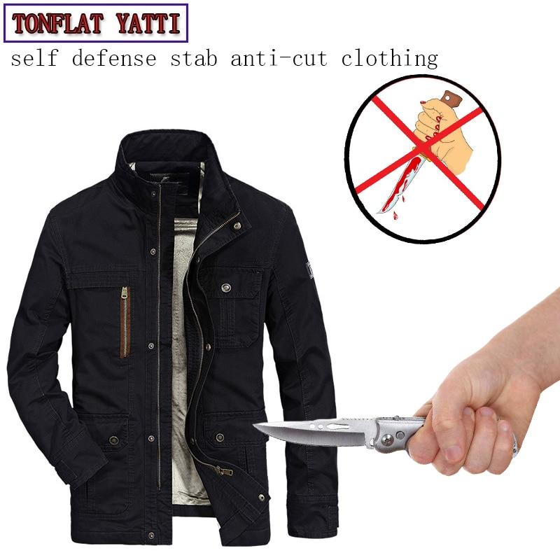 Self Defense Soft Stealth Stab-resistant Anti Sharp Jacke Slash Coat Military Tactics FBI Police Safety Protective Clothing 2019