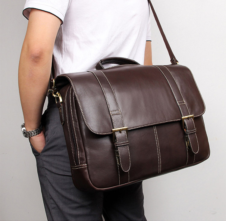 Mens Briefcase  Real Leather Business Travel Vintage 15 Laptop Ipad  Bags Brand Designer Large Shoulder Hand Bag Tote Bags  Mens Briefcase  Real Leather Business Travel Vintage 15 Laptop Ipad  Bags Brand Designer Large Shoulder Hand Bag Tote Bags