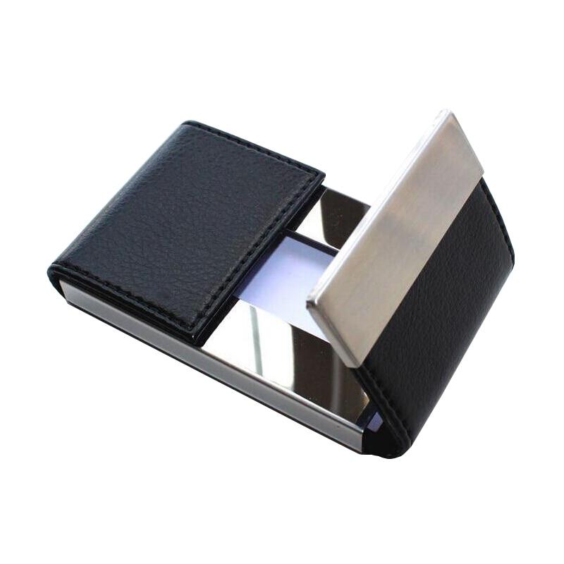 Große Kapazität 20 Visitenkartenhalter Mode Marke Metall