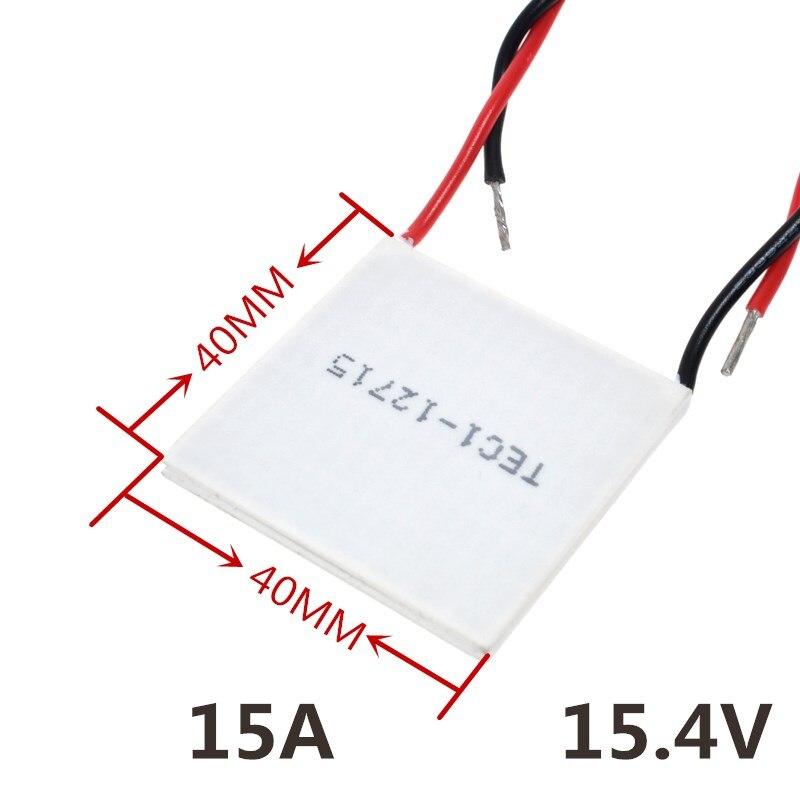 TEC1 12715 12715 136 8W 12V 15 4V 15A TEC Thermoelectric Cooler Peltier TEC1 12715 If