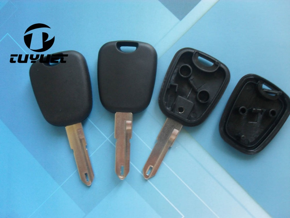 transponder key shell for peugeot 206 replacement car key. Black Bedroom Furniture Sets. Home Design Ideas