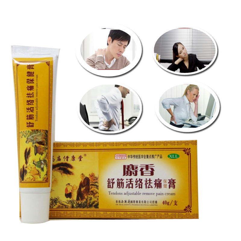 Chinese Medicine Plaster Musky Analgesic Cream 30g Suitable For Rheumatoid Arthritis Joint Pain Relief Ointment Balm Cream цена