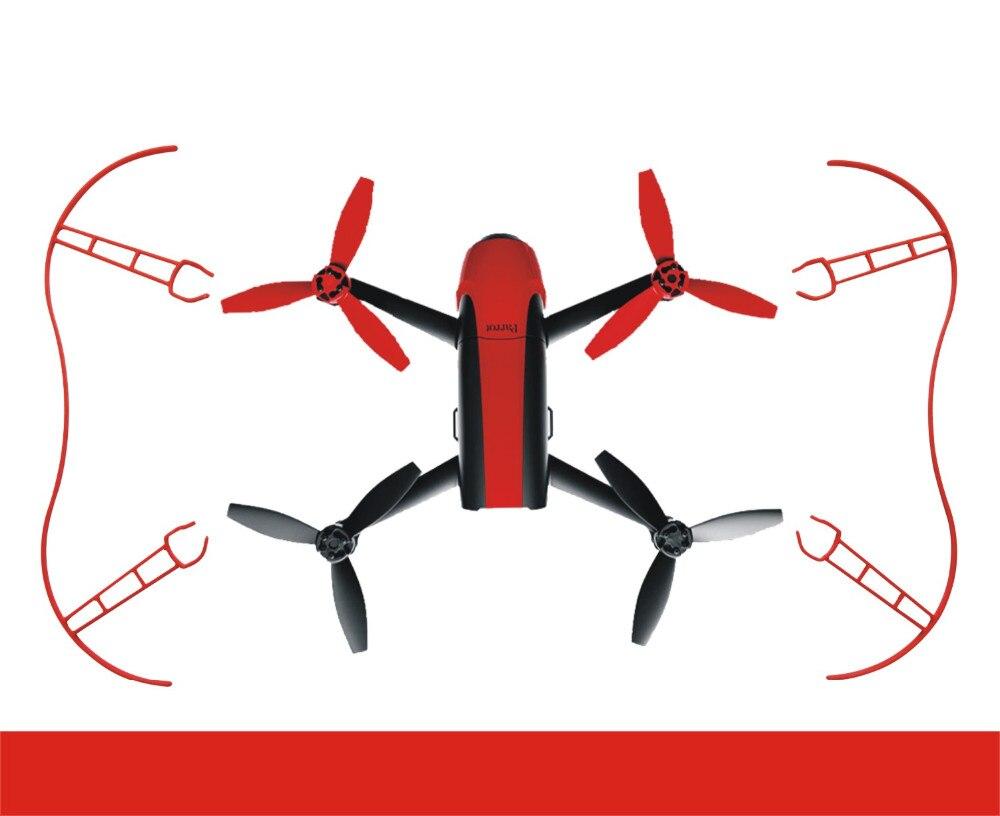 4pcs/set Parrot Propeller Prop Protective Guard Bumper Protector for Rc Drone Parrot Bebop 2.0 Quadcopter White Red