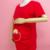 """""""Bolsillo bebé orine boo"""" impresión de la camisa de maternidad gravida embarazo superior clothing baratos tees plus casual tamaño xxl envío gratis"""