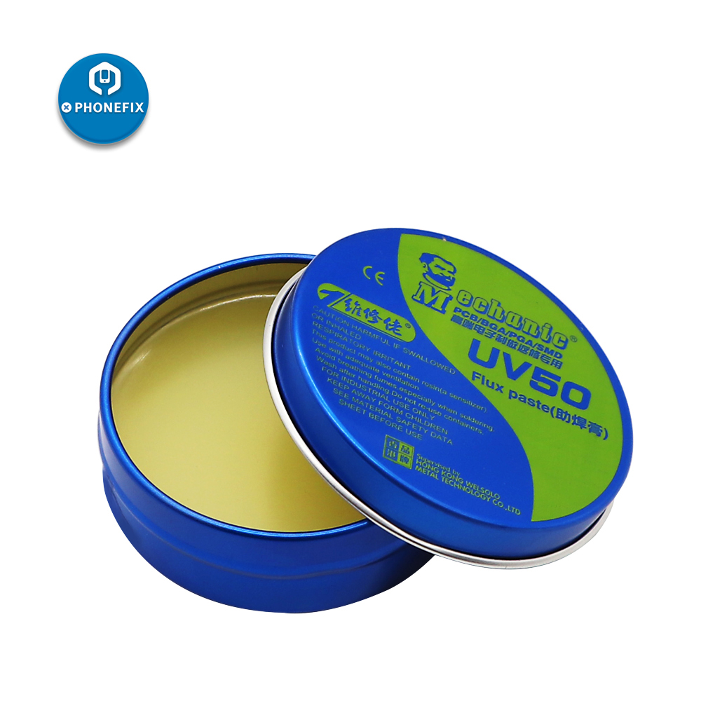 <font><b>Mechanic</b></font> UV Electronic Welding Rosin Solder Paste Flux BGA Soldering Tin Cream BGA Rework for Phone Motherboard Repair image