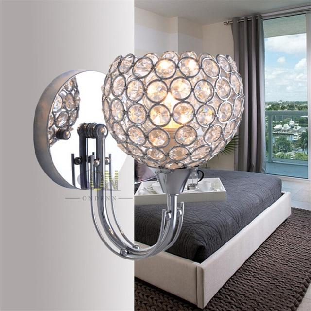 moderne nachtwandleuchte schlafzimmer treppenleuchte kristall wandleuchten e14 led wandleuchten. Black Bedroom Furniture Sets. Home Design Ideas
