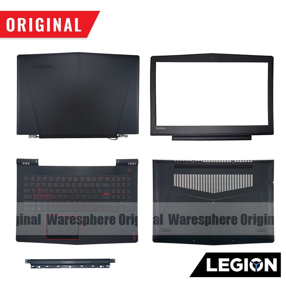 Original For Lenovo Legion Y520 R720 Y520-15 R720 -15 Y520-15IKB R720-15IKB LCD Back Bezel Hinge Plamrest Bottom Base Cover Case