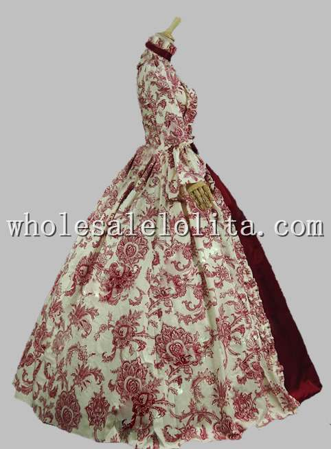 18-ojo amžiaus Marie Antoinette suknelė - Karnavaliniai kostiumai - Nuotrauka 6