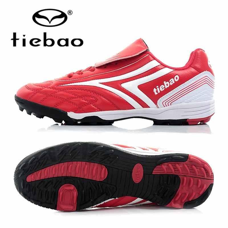 TIEBAO Profesional Botas De Futbol Zapatos de Futbol TF Turf Indoor Sports  Hombres Mujeres Zapatillas De 4e4c13208d8d0