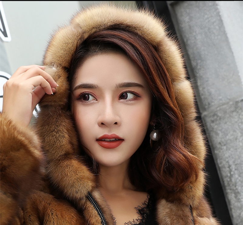 Back To Search Resultswomen's Clothing Real Sable Whole Mink Fur Women Slim Regular Coat Martes Zibellina Mink Fur Jacket Porpular Mink Fur Jackets & Coats