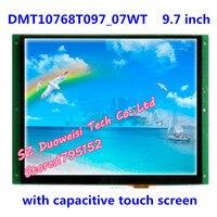 DMT10768T097_07WT 9.7 polegada DGUS serial apoio tela capacitiva de tela de reprodução de voz