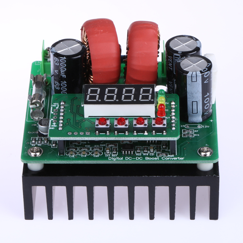 Numerical Digital Control Display DC-DC DC Booster Module 400W Constant Voltage Constant Current Module цены