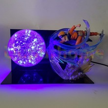 Anime Naruto Figure Zero Rasengan Led Light Table Lamp Christmas Decor