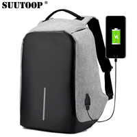 Suutoop Fashion Backpacks Anti Theft Multifunction Usb Charging Men Rucksack 13 Inch Laptop Computer Backpack Male