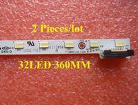 2 Pieces Lot LED Backlight V580H1 LS6 TLEM3 V580H1 LS6 TREM3 For V580HK1 LS6 32LED 360MM