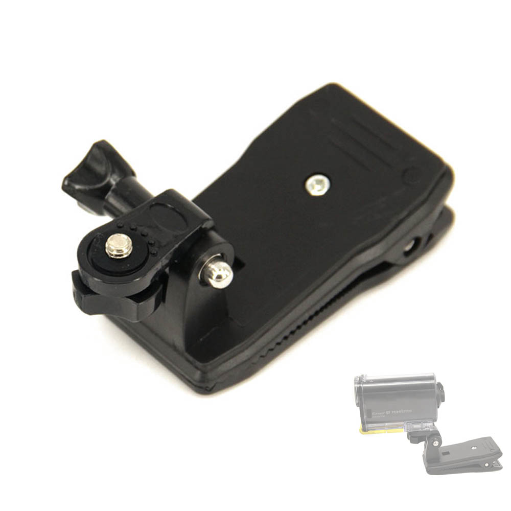 Bag clip Backpack Mount For Sony Action Cam HDR AS20 AS15 AS100V AS30V AZ1 AS200V AS300 FDR-X1000V X3000 aee accessories