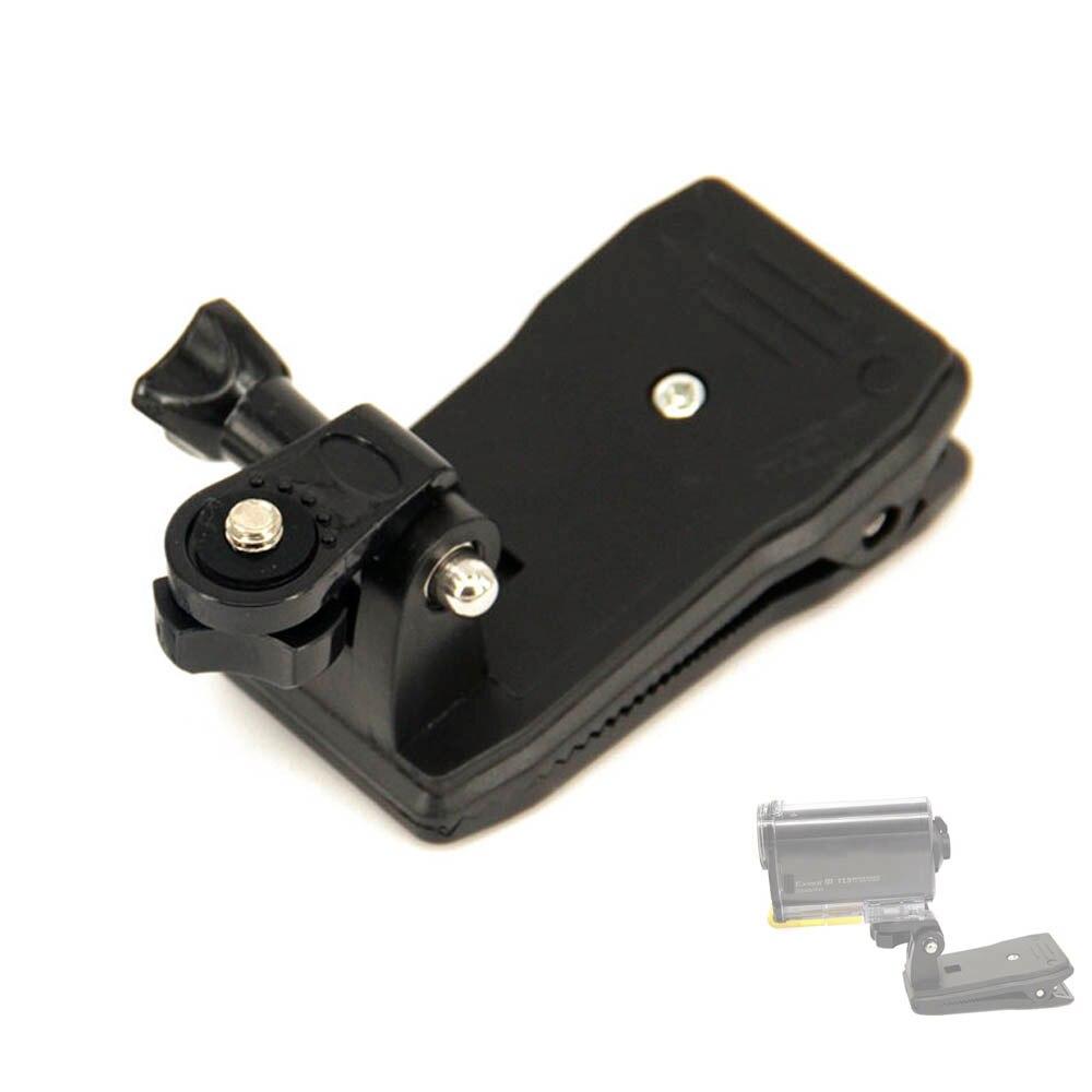 Clip de la bolsa de mochila para montaje en Sony Action Cam HDR AS20 AS15 AS100V AS30V AZ1 AS200V AS300 FDR-X1000V X3000 aee Accesorios
