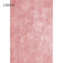Laeacco Gradient Solid Pink Portrait Baby Photography Backgrounds Vinyl Backdrops For Photo Studio Customizable Backgrounds Prop