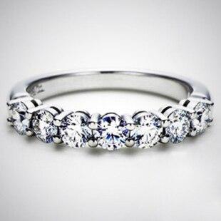 Queen Brilliance Luxury 07 Carat Engagement Wedding Moissanite