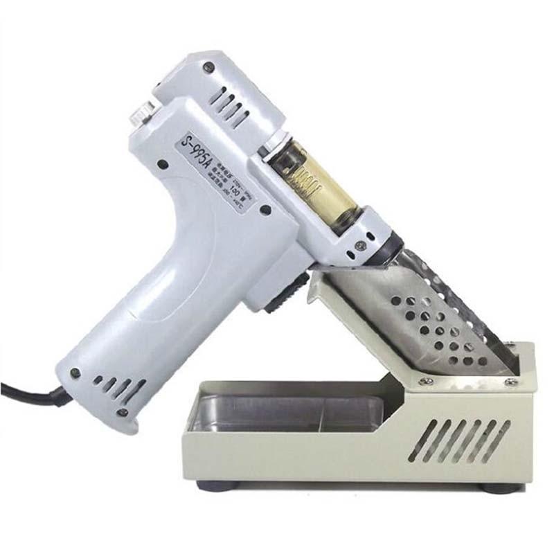 Electric Desoldering Pump S 995A Handy Desoldering Hot Air Gun Desoldering Pump Soldering Iron Solder Sucker