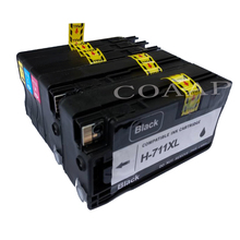5pcs Printer Ink Cartridge For Compatible hp 711 XL Replacement HP Designjet T120 T520 ink