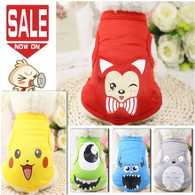 Cute Soft Dog Clothes for Small Dogs Summer Dog Clothing Coat Jacket Puppy Clothes Pet Dog Coat Yorkies Chihuahua Hoodies 2018
