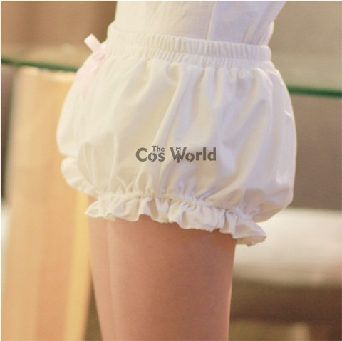 Lolita Sweet Bloomers Underwear Leggings Safety Pants Shorts Cosplay Costumes Lahore
