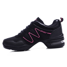 Maultby Women Black Purple Dance Shoes Jazz Hip Hop Shoes Salsa Sneakers for Woman Platform Dancing Ladies Shoes #DS4024P
